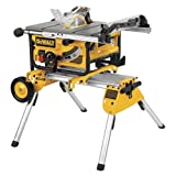 DW745RS Portable Site Saw + DE7400 stand 240 Volt (DW745RS-GB)