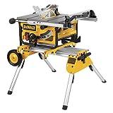 DW745RS Portable Site Saw + DE7400 stand 240 Volt (DW745RS-GB)