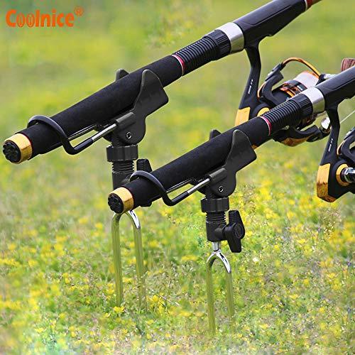 Coolnice Soporte para Caña de Pescar (2 Unidades)