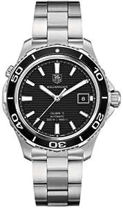 Tag Heuer Aquaracer 500 WAK2110.BA0830 41mm Automatic Silver Steel Bracelet & Case Synthetic Sapphire Men's Watch