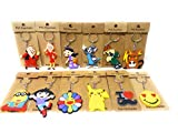 Gifts Online? Kids Character Keychains Collection - Set Of 12 Keychains