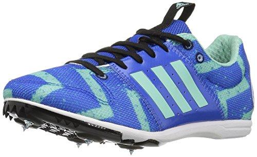 adidas Performance Boys' Allroundstar j Running Shoe, Blue/Easy Green/White, 6 M US...