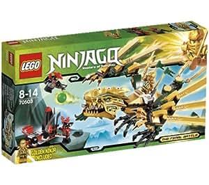 Lego ninjago playthemes le dragon d 39 or 70503 ninjago playthemes la foreuse de cole - Ninjago dragon d or ...