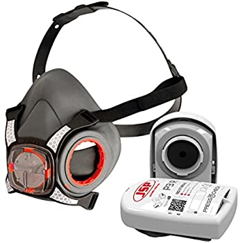 JSP BHT0A3-0L5-N00 Force 8 Half-Mask with Press To Check, P3 Filter