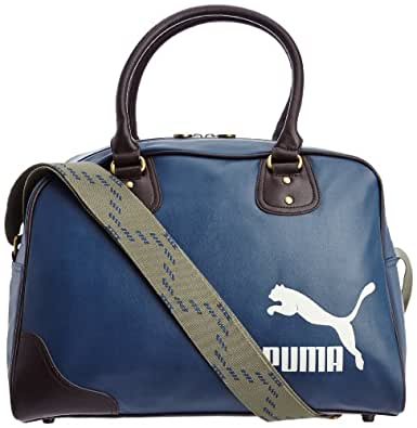 Puma Originals Grip Bag Pu Tote Bag 21.5Litre blue blue wing teal-silver birch Size:One Size