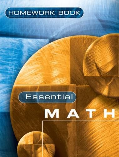 Essential Maths: Homework Book 7S: Homework Bk. 7S