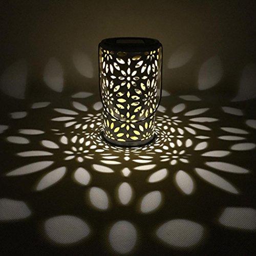 Eule Gänseblümchen Solar Lampe, Siswong Garten Draussen Ornament Party Nacht Atmosphäre Licht