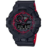 Casio G-Shock Watch For Men Ana-Digi Dial Resin Band - GA-700SE-1A4