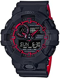 Casio G-Shock Analog-Digital Black Dial Men's Watch - GA-700SE-1A4DR (G763)