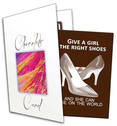 Gib einem Mädchen die richtigen Schuhe und sie erobert die Welt. (