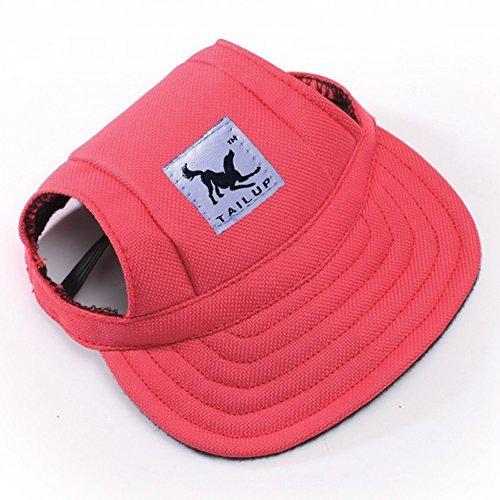 sijueam® S/M HOT Party Hüte Baseball Hat Leinwand Gap mit Ohrenaussparung für Welpen kleine Hunde Chihuahua Pudel Beagles/Boston YORSHIRE TERRIER/Shih Tzu/Französische Bulldogge/Miniatur Schnauzer/Mops