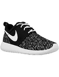 Nike Nike Roshe One Print (Gs) - Zapatillas para mujer negro blanco y negro