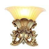 Wohnzimmer Wandleuchte Nachttischlampe Schlafzimmer Lampe Gang Studie Kreative Persönlichkeit Engel Wandleuchte E27 * 1