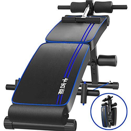 BF-DCGUN Ab Sit Up Bank Falten Bauch Crunch Heimfitness Indoor Trainer Übung Bauch Trainer Workout Machine (Ab Crunch Und Sit Up Bank)