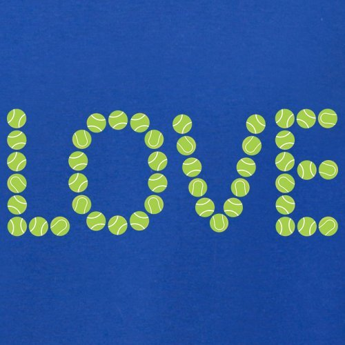 Tennis Love - Herren T-Shirt - 13 Farben Royalblau