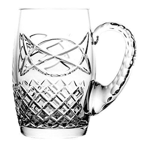 Boccale di birra crystaljulia 5684, cristallo al piombo, trasparente