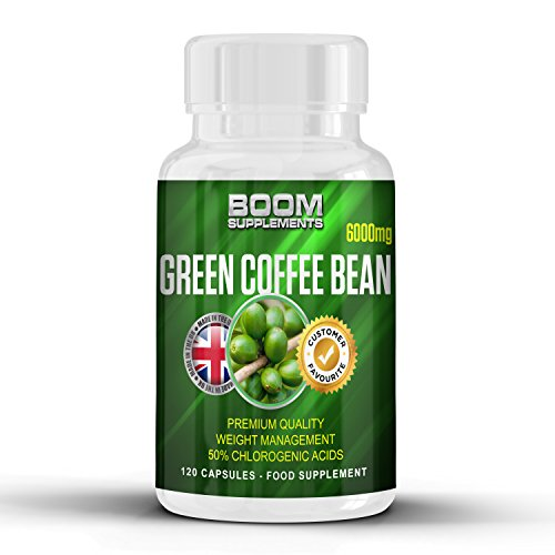 Green Coffee Bean Extract MAX Strength 6000mg | Strong Green Coffee Bean Weight Loss Pills | Lose Weight Fast Or Your Money Back | 120 Powerful Fat Loss Tablets | FULL 2 Month Supply | Helps Shed Fat For Men And Women | Achieve Weight Loss Goals FAST | Safe And Effective | Best Selling Fat Loss Pills | Manufactured In The UK!