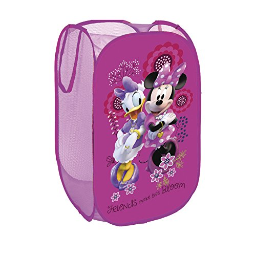 North Star WD9301 Portagiochi Pop UP Minnie, Poliestere, Multicolore
