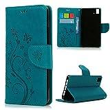 Funda bq Aquaris E5 4G LTE / E5s Libro de Cuero Impresión - Mavis's Diary...