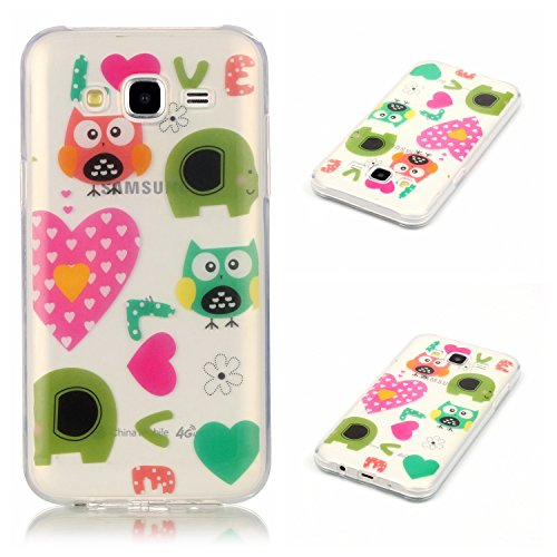 Qiaogle Telefon Case - Weiche TPU Case Silikon Schutzhülle Cover für Apple iPhone 5 / 5G / 5S / 5SE (4.0 Zoll) - XS20 / high-heeled shoes XS15 / Owl need Love