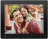 NIX Advance - 12 Zoll Digitaler Bilderrahmen f�r Fotos und HD-Video (720p) mit Bewegungs-Sensor, f�r SD und USB, schwarz - X12D Bild