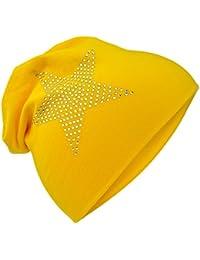 Miobo – Gorro de algodón para bebé con diseño de estrellas
