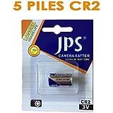 5 piles CR2 - Expédiées depuis la France