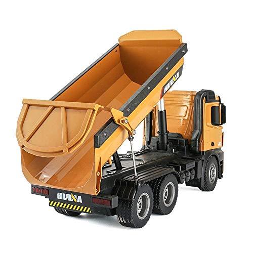 RC Auto kaufen Baufahrzeug Bild 2: s-idee® S1573 Rc Dump Truck 1:14 LKW 10 Kanal Kipplader Huina 1573*