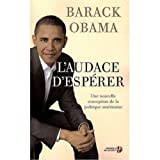 L'Audace d'Esperer (French edition of The Audacity of Hope by Barack Obama (2008-06-30) - French & European Pubns - 30/06/2008