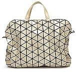 Vintage Woman-Bag Plaid Tote Mode Umhängetaschen Diamantgitter Handtasche