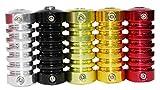 Mumbai Tattoo Aluminium Grip 022mm Mixed Colour (Pack of 5)