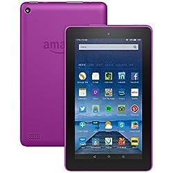 """Tablet Fire, schermo da 7"""", Wi-Fi, 8 GB (Magenta) - Con offerte speciali"""