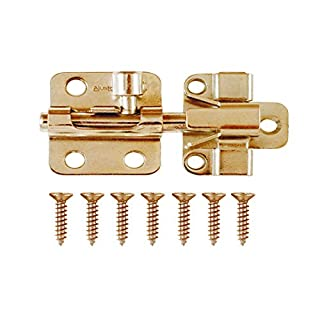 ajustlock 5,1 cm Messing Tone Barrel Bolt Fenster Lock