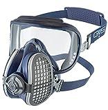 Elipse SPR405 Integra P3 Maske mit Schutzbrille, Größe M/L