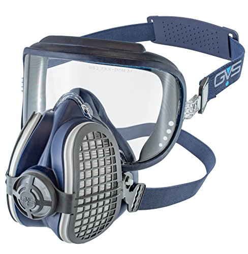 Elipse SPR406 Maschera P3 per Polveri con Occhiali di Sicurezza e Filtri Sostituibili, M/L