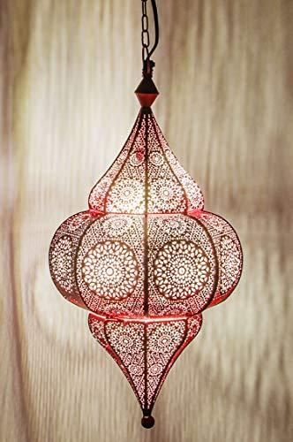 Marrakesch-Lámpara colgante ROSA Malha 48cm
