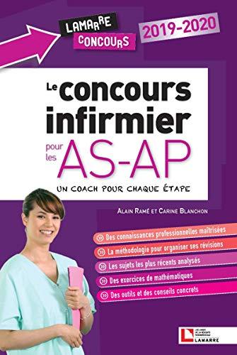 Le concours infirmier pour les AS-AP  2019-2020: un coach pour chaque étape par Carine Blanchon