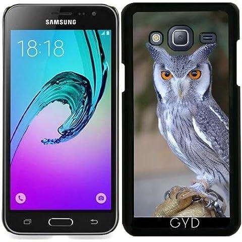 Funda para Samsung Galaxy J3 2015 (SM-J310) - La Vida Silvestre De Aves Búho Real by