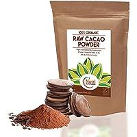 Cacao Orgánico en Polvo Crudo, Superalimento Vegano y Sin Azúcar - 200g