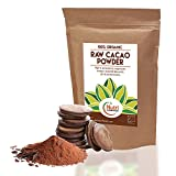 CACAO POWDER, ORGANIC, RAW, Pure Nutritious Vegan Dark Chocolate Ingredient, Premium Quality Magnesium Rich Superfood, Sugar Free, Delicious and Ideal for Baking, Power Smoothies & Protein Bars - 200g - Nutri Superfoods