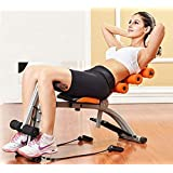 Sampri 6 Pack Abs Exerciser Machine with 20 Different Modes for Exercise and Fitness (Exercise Equipment for Home)(6 Pack Machine Body)