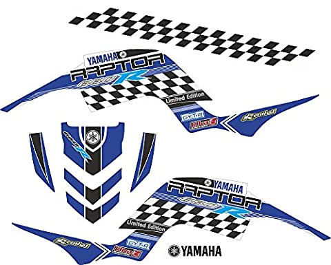 Yamaha Raptor 660individuell Graphics Aufkleber Aufkleber Kit