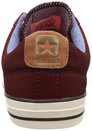 Converse - Sp Workwear Ox, Sneaker Unisex – Adulto Rosso (Rosso (Bordeaux))