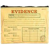 Designer Zipper Pouch: Evidence Bag by Blue Q