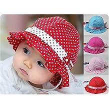 Himolla - gorro de algodón para bebé, para proteger del sol, con gorro de algodón