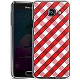 Samsung Galaxy A3 (2016) Housse Étui Protection Coque Carreau Motif Motif
