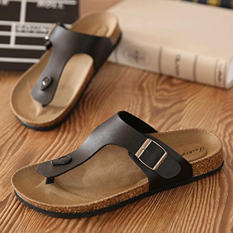 fankou Le coppie estate di sughero maschio pantofole estate coppie pin clip ha una parte antiscivolo sabbia cool ciabatte sandali... Parent bfbb79