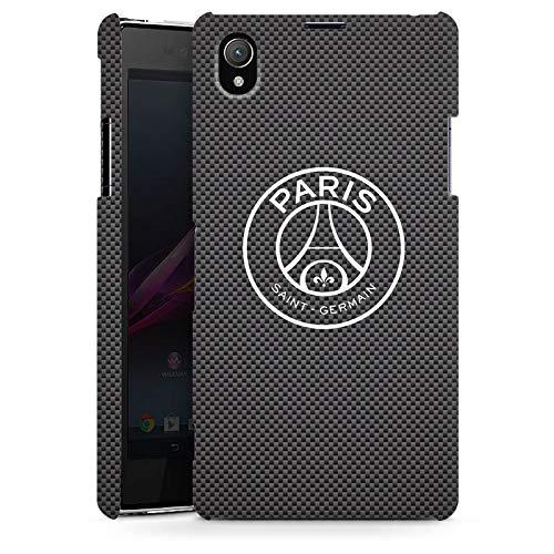 DeinDesign Coque Compatible avec Sony Xperia Z1 Étui Housse Paris Saint-Germain Logo PSG