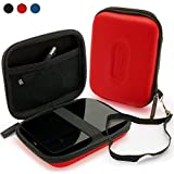 iGadgitz Red EVA Hard Case Cover Suitable for Samsung M3 & P3 500GB, 1TB & 2TB USB 3.0 Slimline 2.5