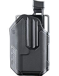 BLACKHAWK. omnívoro Multifit Streamlight tlr-1/2funda - 419002BBR, Negro